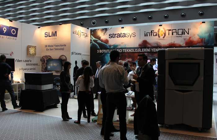 Firmanın 3DPrint Expo Fuarındaki Standı